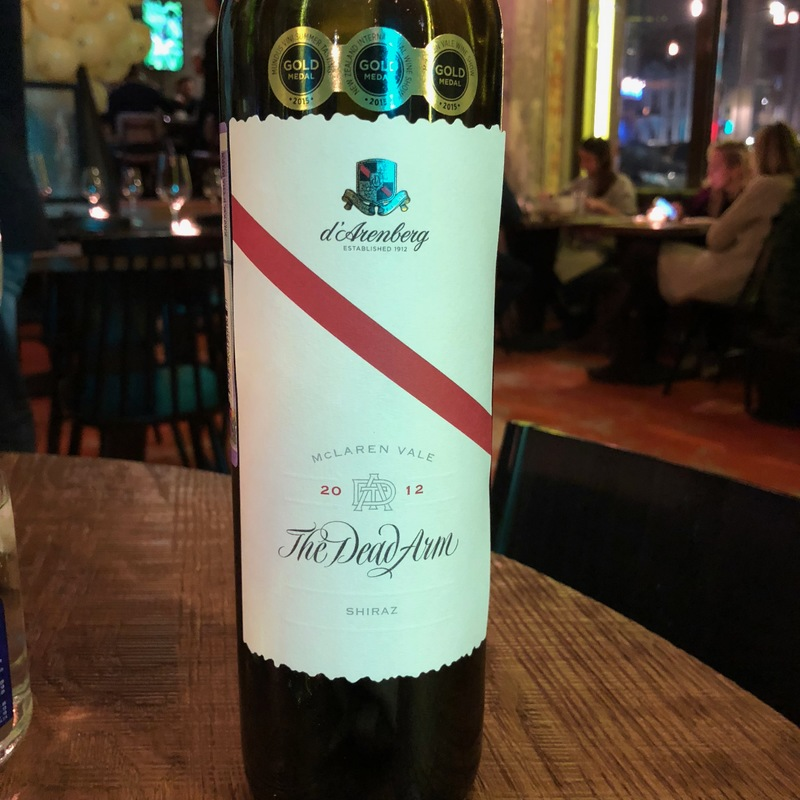 Вино D'Arenberg The Dead Arm, Shiraz, Australia 2012